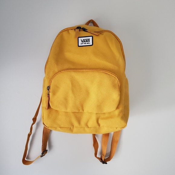 f395a34b8 Vans Bags | Act Fast Sale Mustard Mini Canvas Backpack | Poshmark